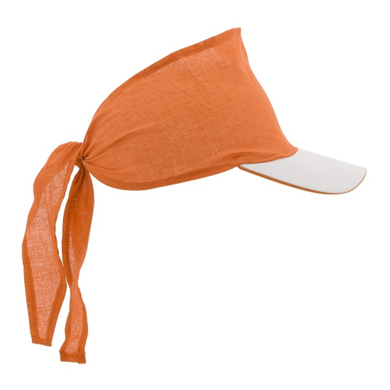 Bandana pet oranje