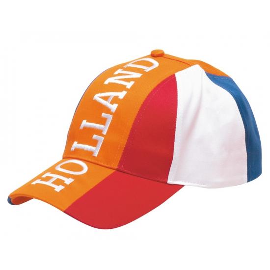 Baseballcap oranje Holland volwassen