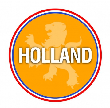 Bierviltjes in Holland oranje thema