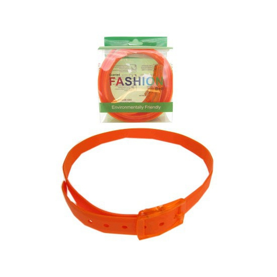 Disco blacklight riem neon oranje