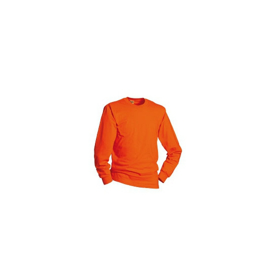 Ek shirt oranje met lange mouwen