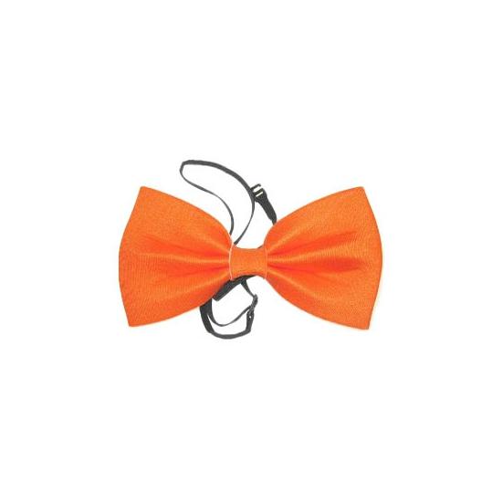 Feest vlinderdas oranje