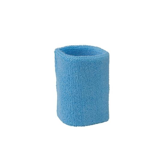 Goedkope zweetbandjes lichtblauw