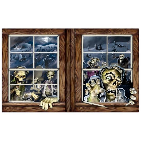 Halloween zombie scenesetters