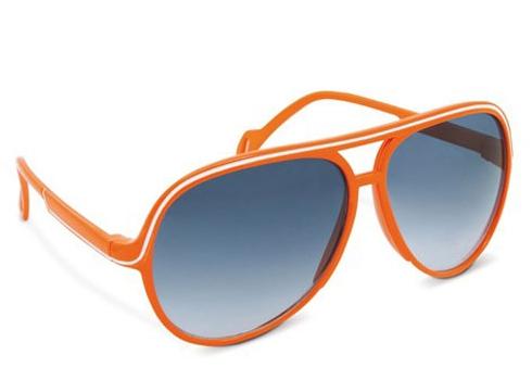 Hippe oranje zonnebril