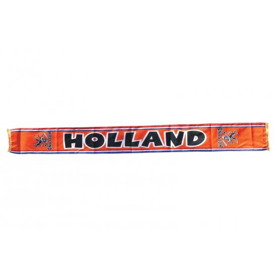 Holland fan sjaal 145 x 16 cm