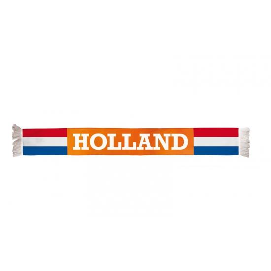 Holland fan sjaal 150 x 16 cm