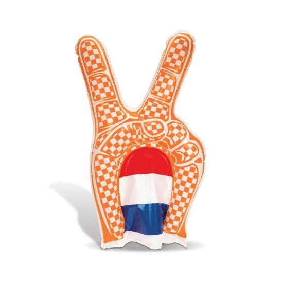 Holland hand oranje 30 x 50 cm