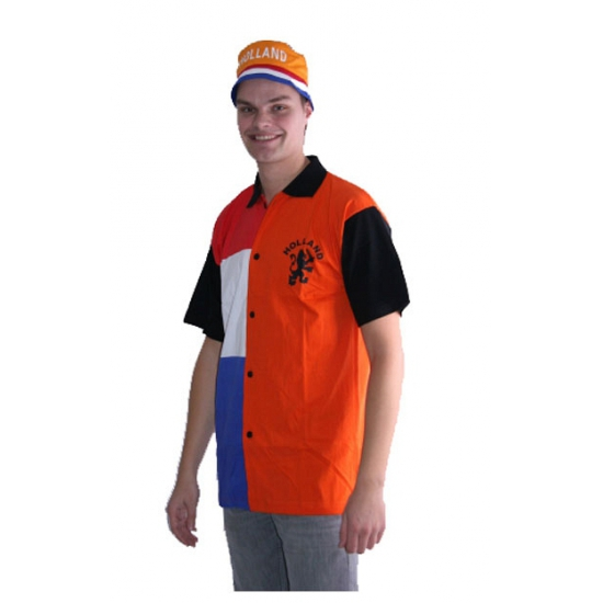 Holland oranje polo shirt