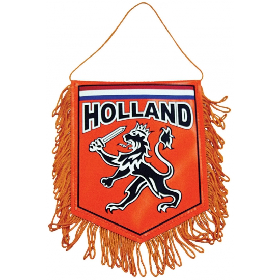 Holland supporters autovlaggen 15 x 10 cm