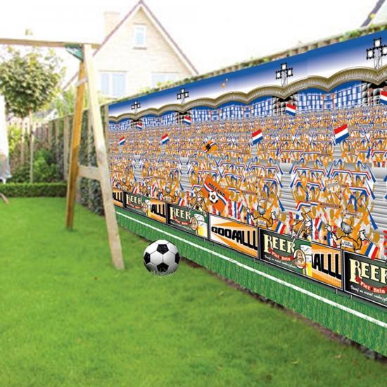 Holland supporters decoratie doek