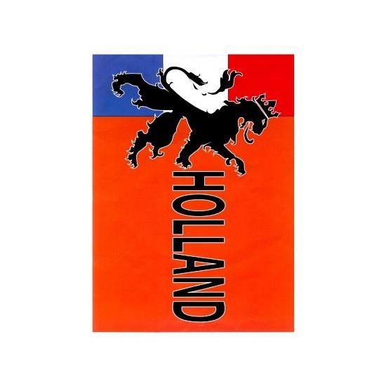 Holland vlag met leeuw 90 x 150 cm