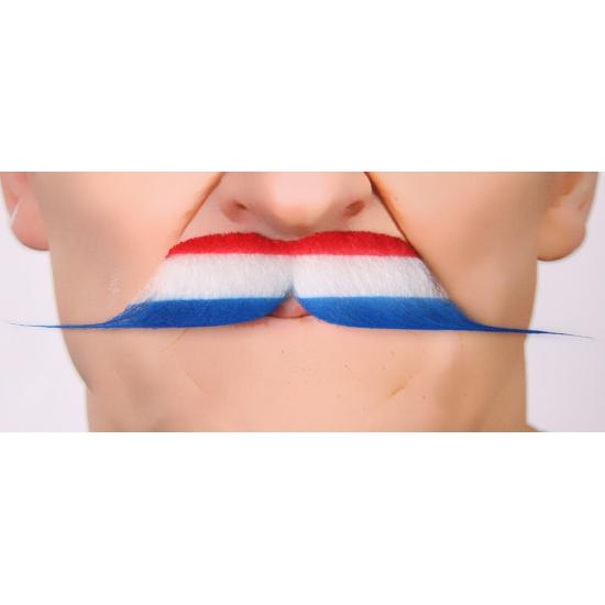 Hollandse vlag snor