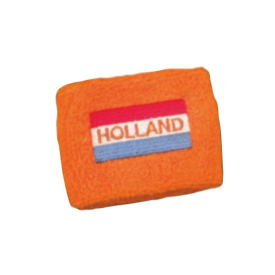 Hollandse vlag zweetbandje