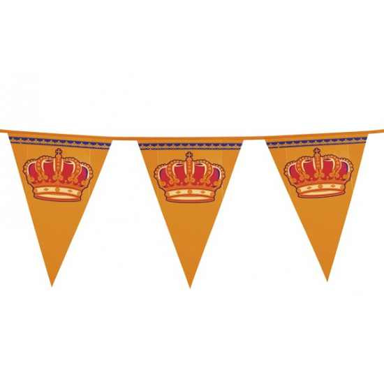 Kingsday vlaggenlijn oranje