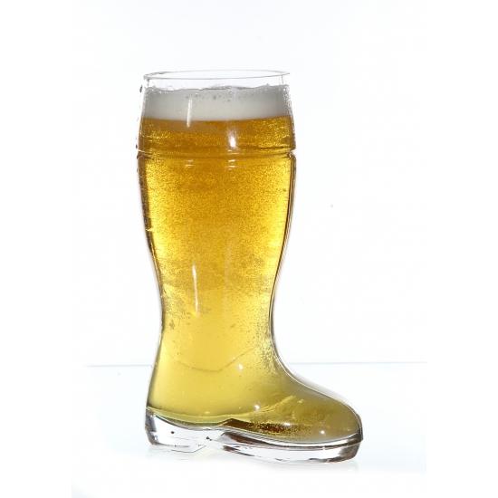 Laarzen bierglas liter