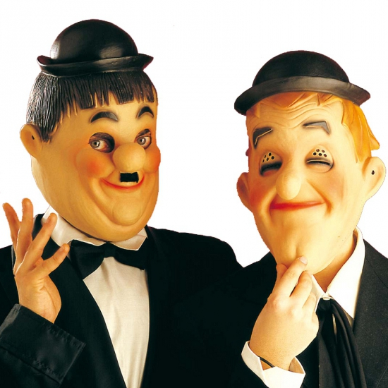 Maskers van Laurel en Hardy