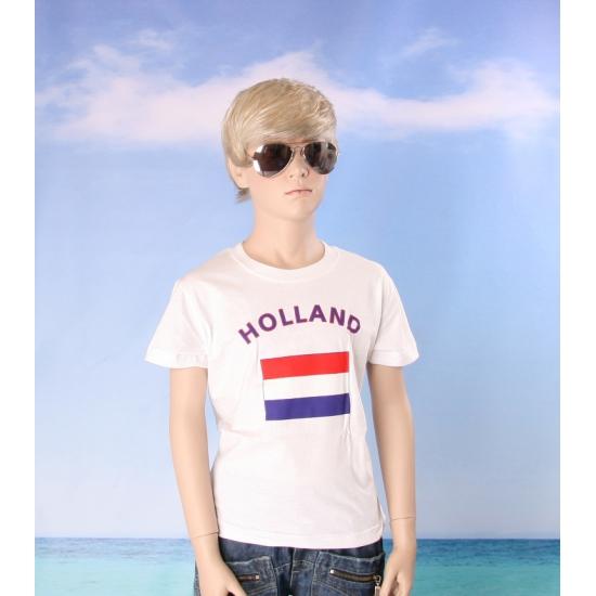 Nederlands vlaggen t shirts voor kinderen