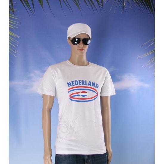 Nederlandse vlaggen t shirts voor heren