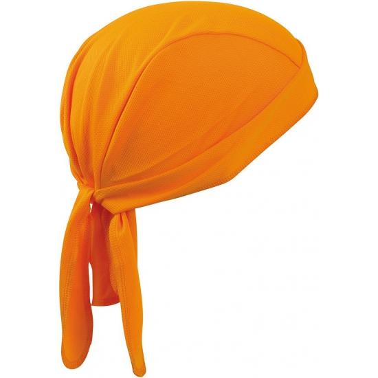 Oranje bandana volwassenen