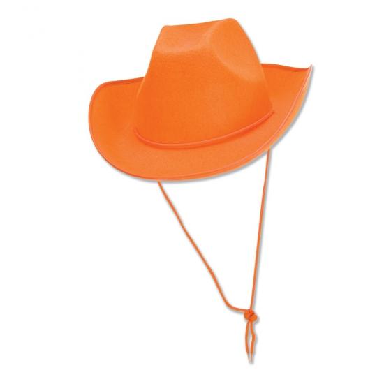 Oranje cowboyhoed