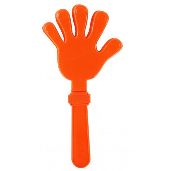 Oranje handklapper