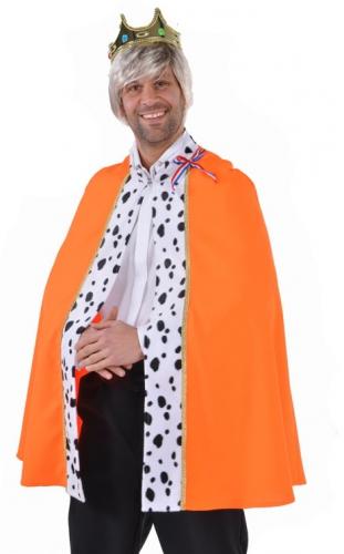 Oranje koning cape deluxe