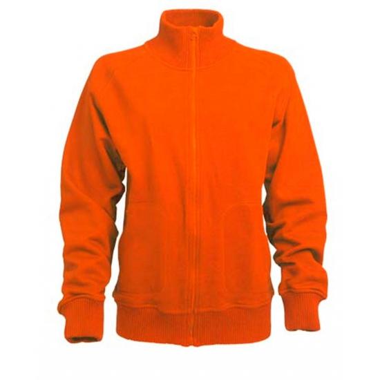 Oranje Lemon and Soda vest voor dames en heren
