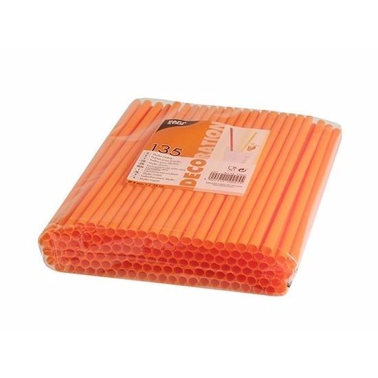 Oranje mikshakerietjes 135 stuks