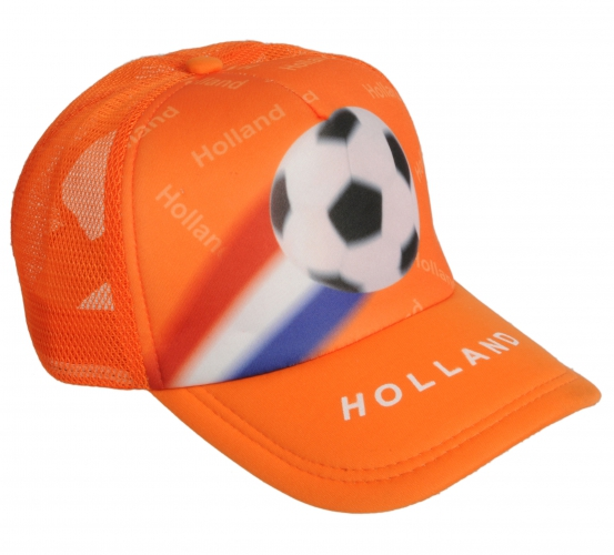 Oranje pet Holland met voetbal