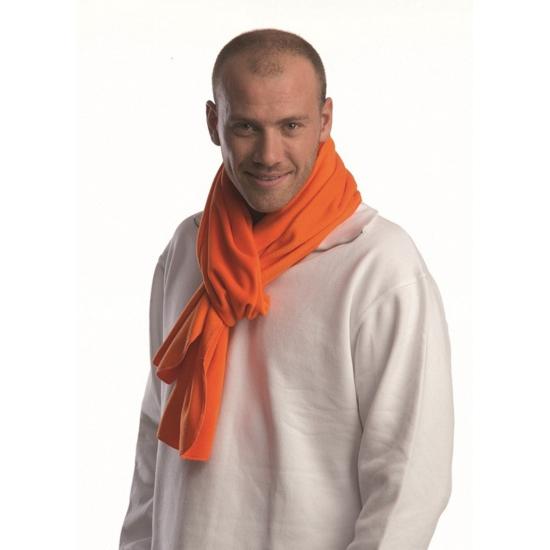 Oranje sjaals