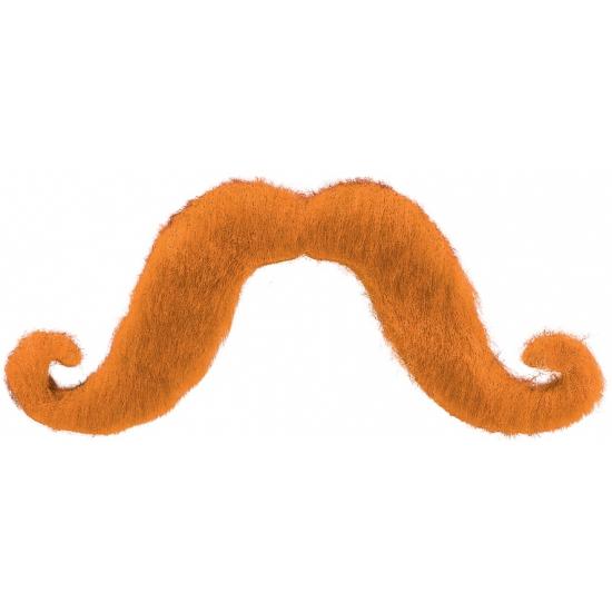 Oranje snorren met krul