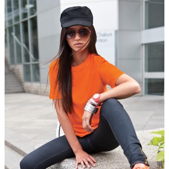 Oranje t shirt voor kinderen
