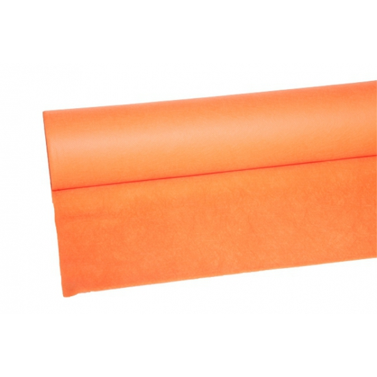 Oranje tafelkleed 25 meter