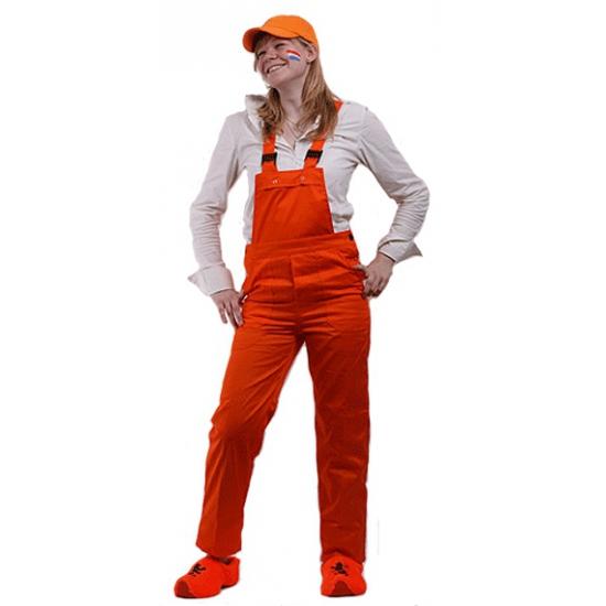 Oranje tuinbroeken voor kinderen