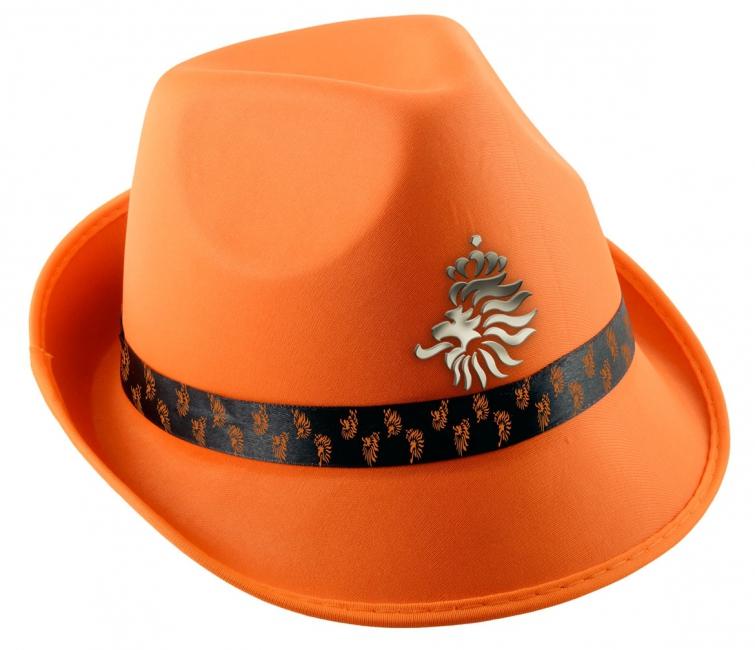 Oranje voetbal hoed KNVB