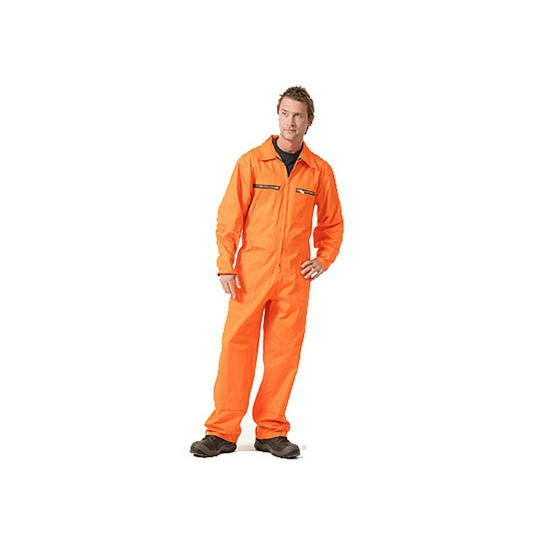 Oranje werkpak heren