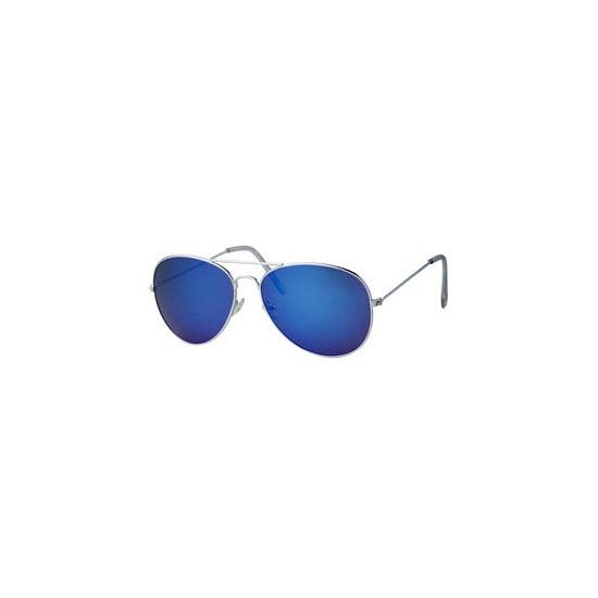 Politie brillen met blauwe glazen