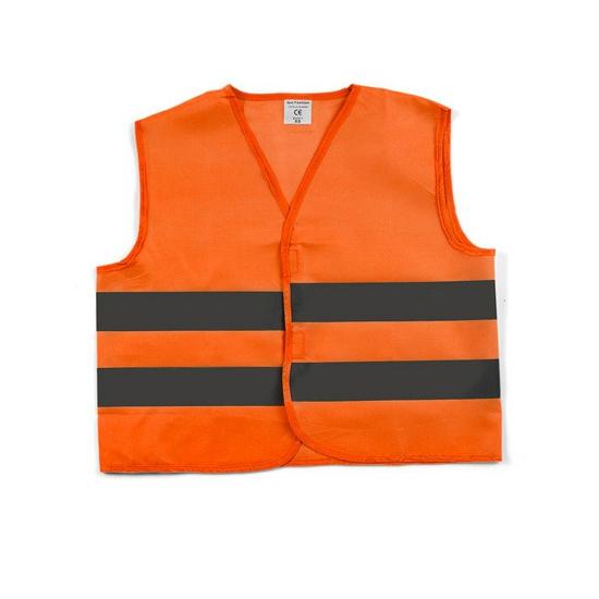 Reflecterend veiligheids vestje oranje