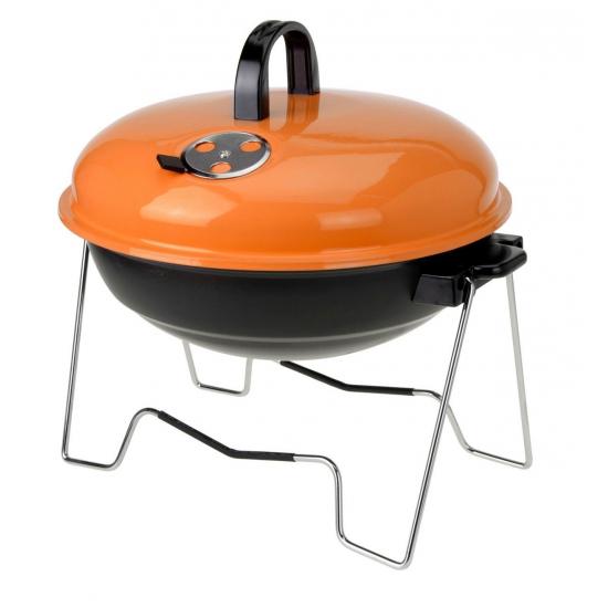 Ronde vakantie barbecue oranje