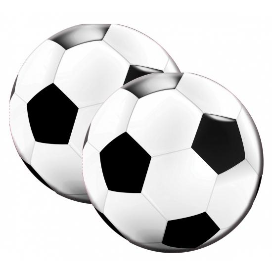Servetten in de vorm van een voetbal