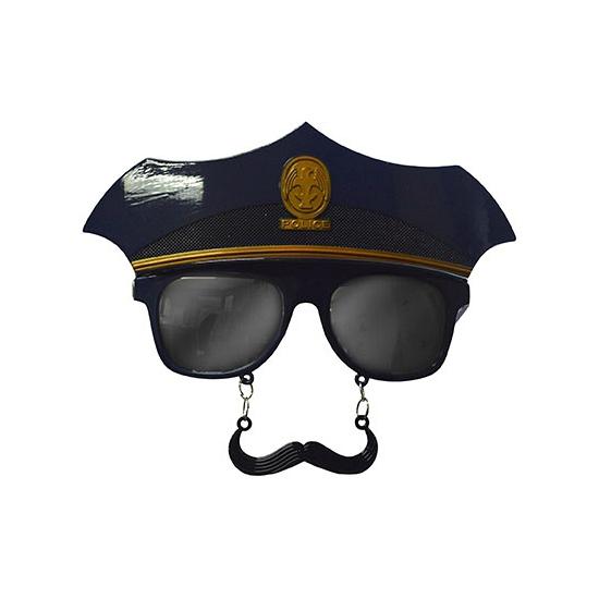 Snorbril politie agent
