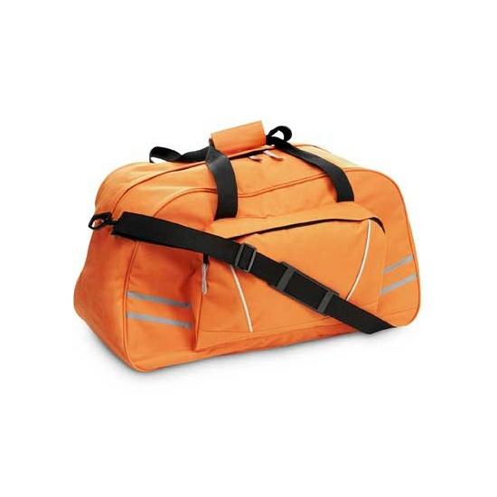 Sporttas oranje 600D polyester