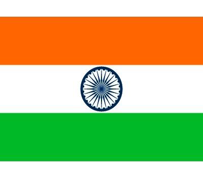 Stickers van de indiase vlag