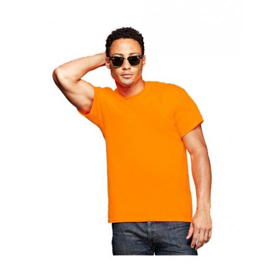 Voordelig oranje tshirt