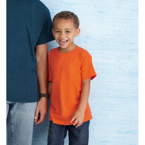 Voordelige kinder t shirts oranje