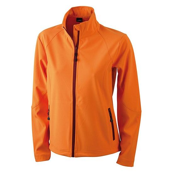 Waterdicht dames jack oranje