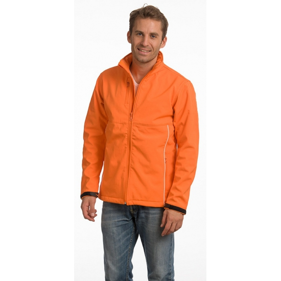 Waterresistant herenjack oranje