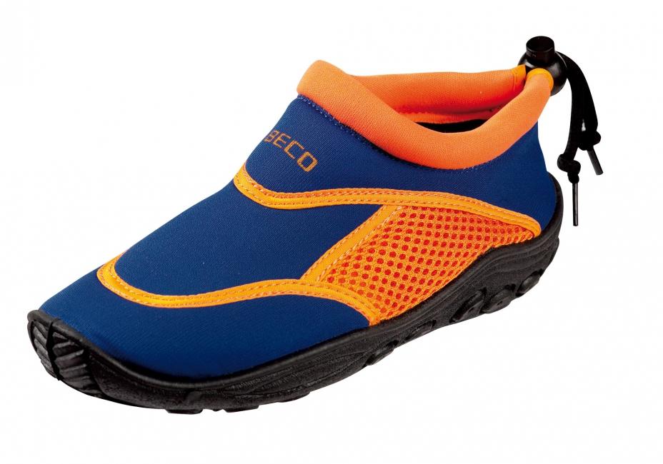 Waterschoenen voor kinderen blauw en oranje