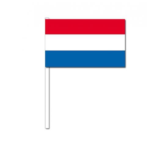 Zwaaivlaggetjes Nederland 12 x 24 cm